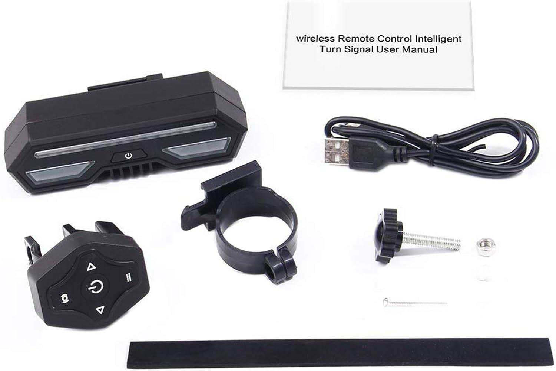 HaixclvyE Ultra Bright Control LED Bike Tail Light, Waterproof & USB Rechargeable Bike Lights, Helmet Light Turn Signal Brake Warning Light Bicycle Rear Light