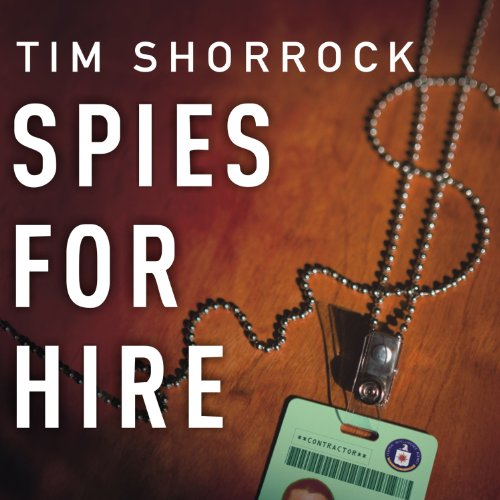Spies for Hire audiobook cover art