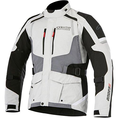 Alpinestars - Motorradjacken Andes V2 Drystar Grau - S