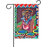 jiaxingdalin Dekorative Katzengarten-Flaggen-Ausgangspatio-Saisonfeiertags-Gewebe-Hochzeitstag-Garten-Flagge im Freien für Rasen und Garten FLAG-003