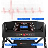 simplyUSAhello 1.0HP Folding Treadmill Electric Support Motorized Power