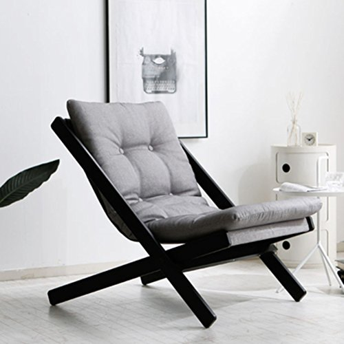 QIQI Mini sofá pequeño,Sofá Perezoso Japon Butaca Plegable sillón de la terraza de Ocio -D
