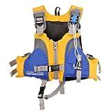 キャプテンスタッグ(CAPTAIN STAG) ベストフローツ 幼児用 イエロー/ブルー MC-2502