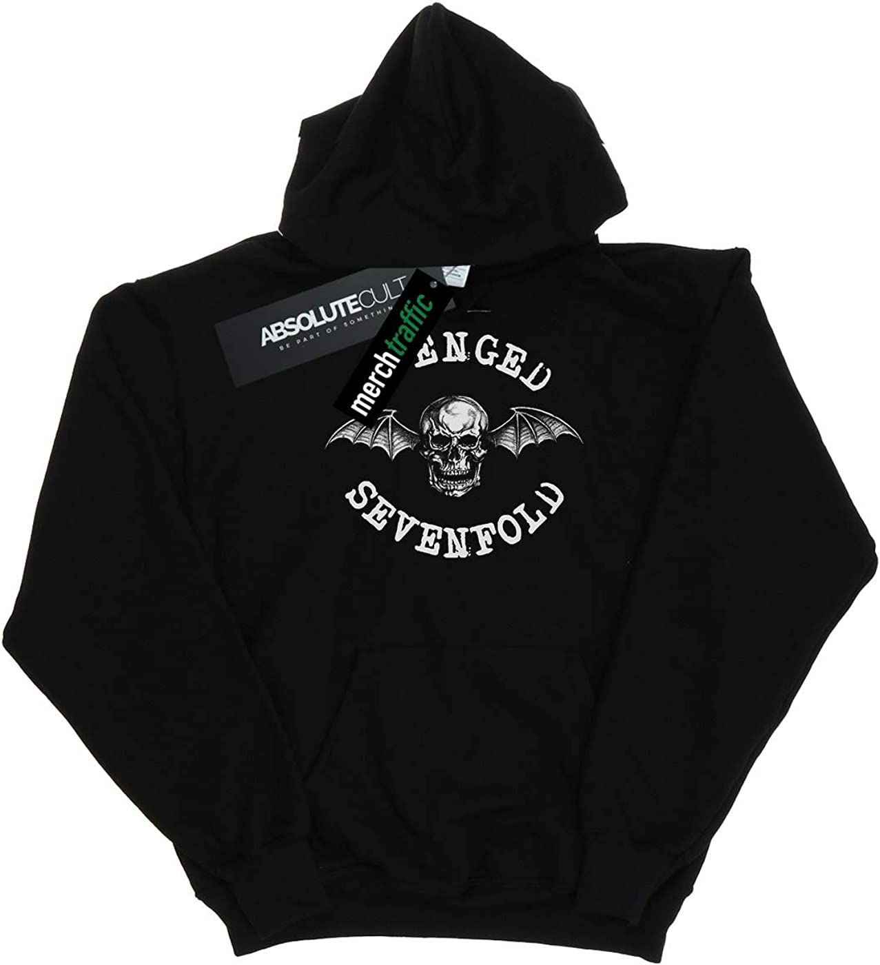 ABSOLUTECULT Avenged Sevenfold Boys Death Bat Hoodie