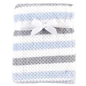 Hudson Baby Unisex Baby Plush Waffle Blanket