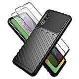 Teayoha Case for Samsung Galaxy A90 5G, with Tempered Glass