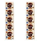 Senseo Latte Macchiato Caramel - Almohadillas de café (Sabor a Caramelo, 100 cápsulas para 50 porciones)