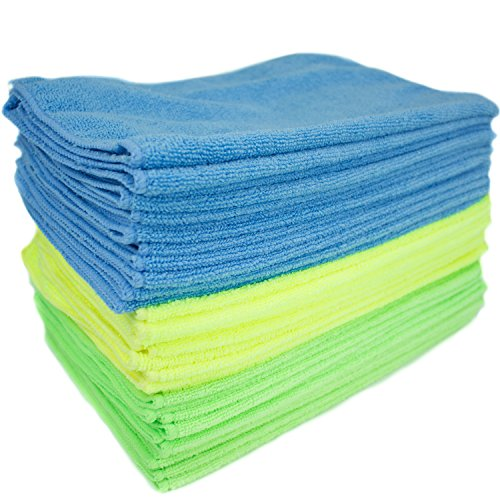 Zwipes Microfiber Towel Cleaning Cloths, 36 Pack