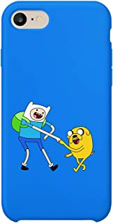Game Grumps Adventure Time iPhone 7 Case, Protective Phone Mobile SmartphoneCase Cover Hard Plastic for iPhone 7 iPhone 7s Funny Gift Christmas