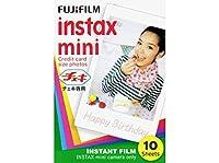 富士フィルム チェキ用フィルム INSTAX MINI 【100枚(10枚×10パック)セット】