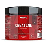 Prozis Creatina monohidrato Estimular la Fuerza, el Crecimiento y el Desarrollo Muscular, Naranja - 300 g