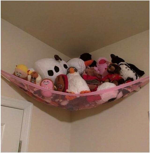 free shipping organize christmas gift menagerie storage TOY hammock fringe stuffed ANIMAL STORAGE boho plush