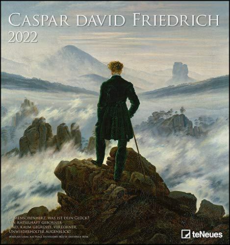 Caspar David Friedrich 2022 - Kunst-Kalender - Wand-Kalender - 45x48