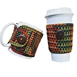 Fall Coffee Cup and Mug Cozy 2 PC Set