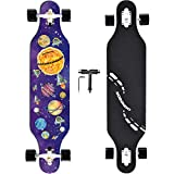 NOBONDO 41 Inch Longboard Skateboard - Canadian Maple Complete Long Board Skateboard Cruiser for Cruising, Carving,...