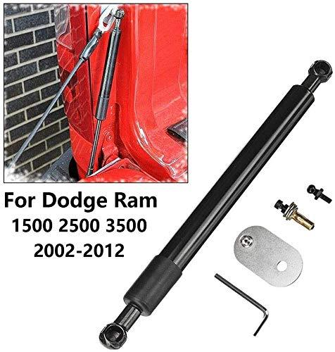 INGHU Voertuig Achterste Gas Struts voor Dodge Ram 1500 2500 3500 2002-2012, Boot Lift Rod Springs Support Lifters, Auto Vervangende Struts achterklep Assist Ondersteuning