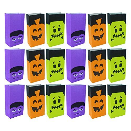 HEMOTON 36Pcs Candy Geschenkbeutel Schöne Candy Verpackungsbox Aufbewahrungstasche Geschenkbehälter