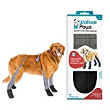 Walkee Paws Snug Fit Dog Leggings, The World's First Dog Leggings That are Dog Shoes, Dog Boots and Dog Socks All in One, As Seen on Shark Tank (Classic, L)