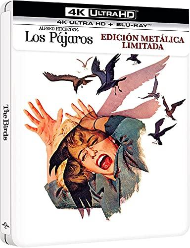 Los Pájaros - Edición Especial Metálica (4K UHD + Blu-ray) [Blu-ray]