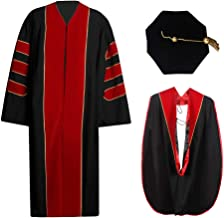 cap and gown doctoral hood