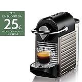 Nespresso Pixie XN3005 macchina per caffè espresso di Krups, colore Electric...