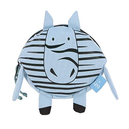 LÄSSIG Kinder Bauchtasche Gürteltasche ab 3 Jahre/Mini Bum Bag About Friends, Kaya Zebra, 14 cm