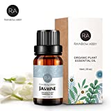 Jasminöl Ätherisches Öl 100% Reines Aromatherapie Öl für Seifen, Kerzen, Massagen, Hautpflege,...