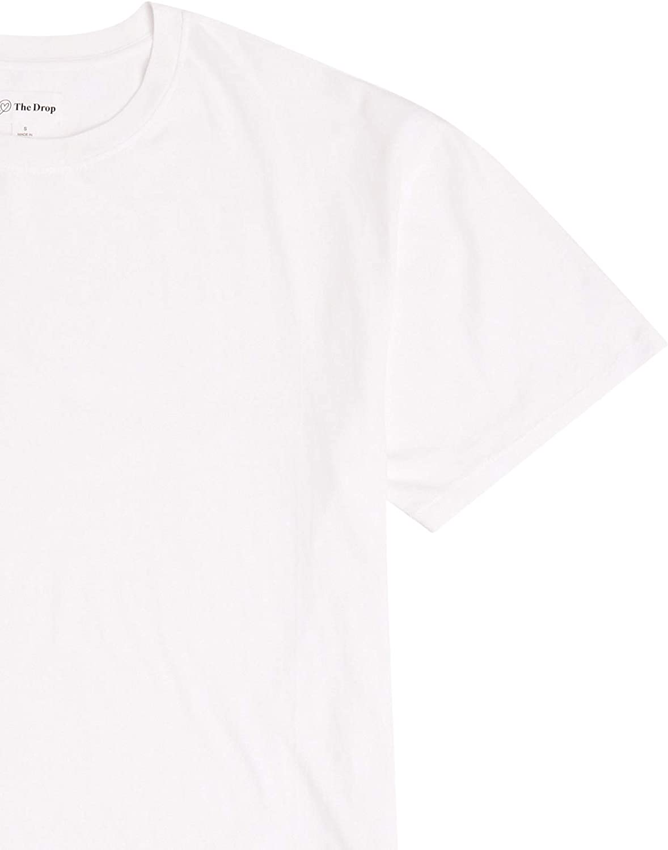 The Drop Women's Lydia Loose Short Sleeve Drop Shoulder Jersey T-Shirt