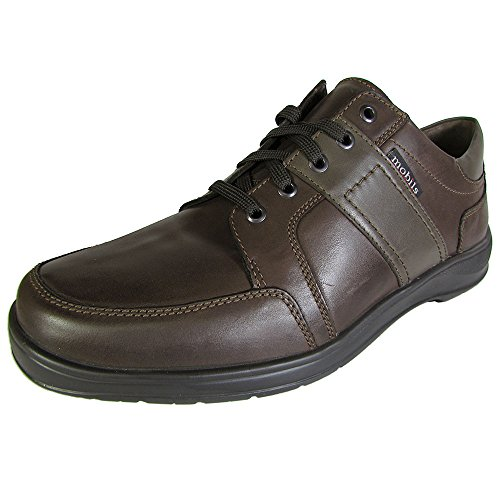 Mobils Ergonomic Men Edward Walking Shoe, Dark Brown, US 11.5