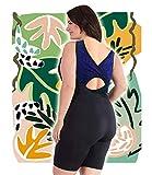 Woman Swimsuit Onepiece Plus Size XL-6XL Aquatard Unitard Sports Professional (2XL 22-24)