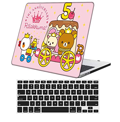NKDCase Case for MacBook Air 13 inch Model A1369/A466 Cut Out Design,Plastic Ultra Slim Light Hard Case Keyboard Cover Compatible MacBook Air 13 Inch 2010-2017 Release No Touch ID,Cartoon A 149