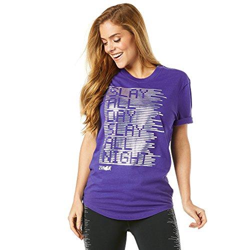 Zumba Camiseta de Matar Hombre Todo el día, Hombre, Color Blue and You, tamaño X-Large
