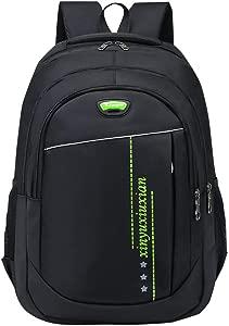 Haepe Men s Gentleman Leisure Fashion Large Capacity Shoulders Bag Travel Backpacks Vintage Laptop Backpack for Women Men School College Backpack with USB Charging Port Fashion Backpack