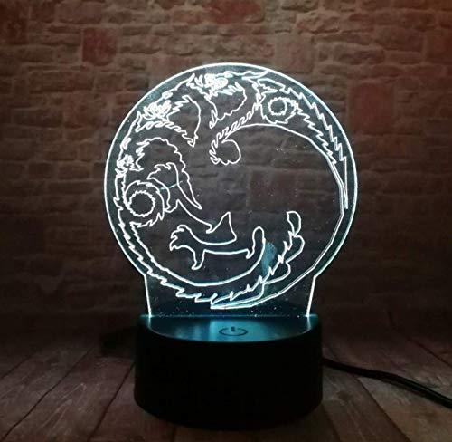 Nachtlampje voor thuis, tafeldecoratie voor jongens, mannen, Kerstmis, verjaardag, Nieuwjaar, cadeau