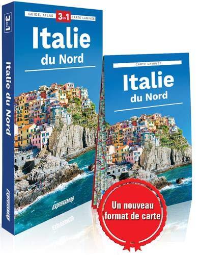 Italie du nord: Guide + atlas + carte
