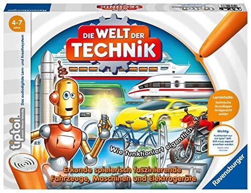 Tiptoi Die Welt Der Technik. Erkunde Spielerisch Faszinierende Fahrzeuge, Maschinen Und Elektrogeräte