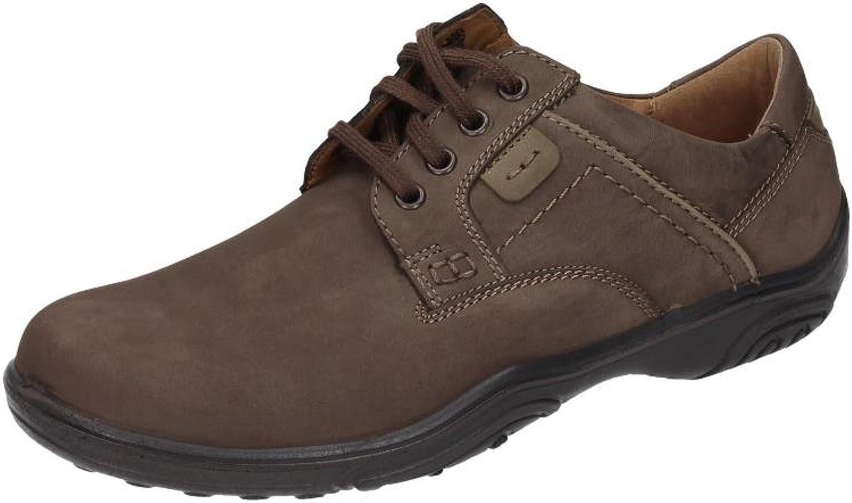 Comfortabel Men's Herren Schnürer Lace-Up Flats Brown Brown