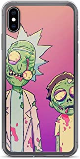 TEEDUYEN Compatible with iPhone 6/6s Case Pickle Rick Funny Cute Morty Pure Clear Phone Cases Cover