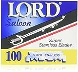 Lord Hojillas de Afeitar - 100 Unidades