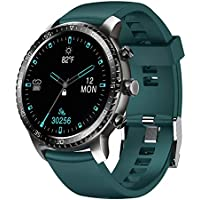 Tinwoo Smart Watch for Android/iOS Phones With Heart Rate Monitor (Green)