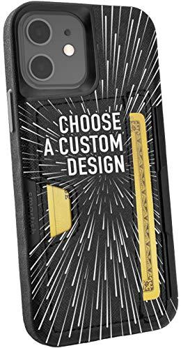 Smartish iPhone 12/12 Pro Wallet Case - Wallet Slayer Vol. 2 [Slim Protective Kickstand] Credit Card Holder (Silk) - Secret Menu