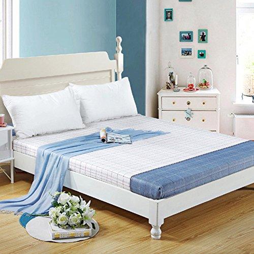 JIUMGNAGFHNMOPL Gesamtes Baumwoll-Bett und einzelstück/Pure Cotton mat/matratzenbezug/Latex-matratze Cover/Abdeckung ausgestattet-A 120x190cm(47x75inch)
