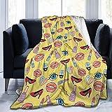 SOUL-RAY Rossetto Scarpe Occhi tema caldo confortevole e alla moda in inverno, tenere caldo, coperta di velluto Indoor Outdoor.50 * 101,6 cm