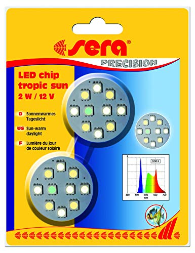 sera LED chip tropic sun 2 W / 12 V 2 St.