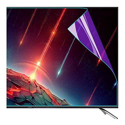 ZWYSL Anti-Blaulicht-Schutzfolie, Blendschutz-Anti-Kratz-TV-Displayschutzfolie für LCD-, LED-, 4K-OLED- und QLED-HDTV-Displays für 32-75-Zoll-Monitor (Color : HD Version, Size : 55 inch 1213x686mm)