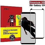 Samsung Galaxy S9 Panzerglas Schutzfolie , Hohe Qualität 3D Displayschutzfolie [9H Härtegrad] [Ultra Klar] [Case- Friendly] [Anti-Fingerabdruck] [Blasenfreie Installation] Gehärtetes Glas Panzerglas Folie für Samsung Galaxy S9