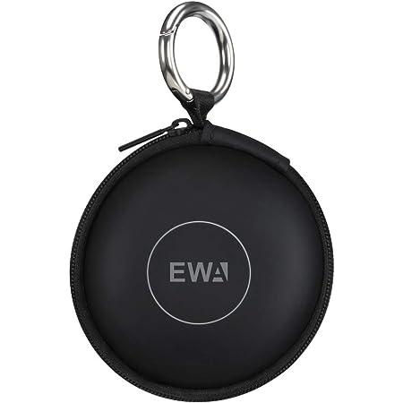 EWA A106/A109mini用トラベルケース(EVA/衝撃保護/Bluetoothスピーカー保護ケース)(ブラック)