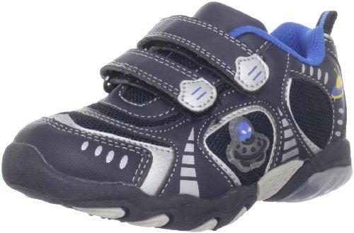 Jumping Jacks UFO Lighted Fashion Sneakers (Toddler/Little Kid/Big Kid),Navy/Silver Trim,24 EU(7-7.5 M US Toddler)