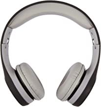 ATIVA On-Ear Headphones, Black/Gray, WD-LG01-BLACK