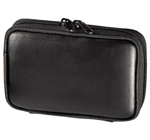 Hama S1 Universelle PNA Tasche Leder schwarz